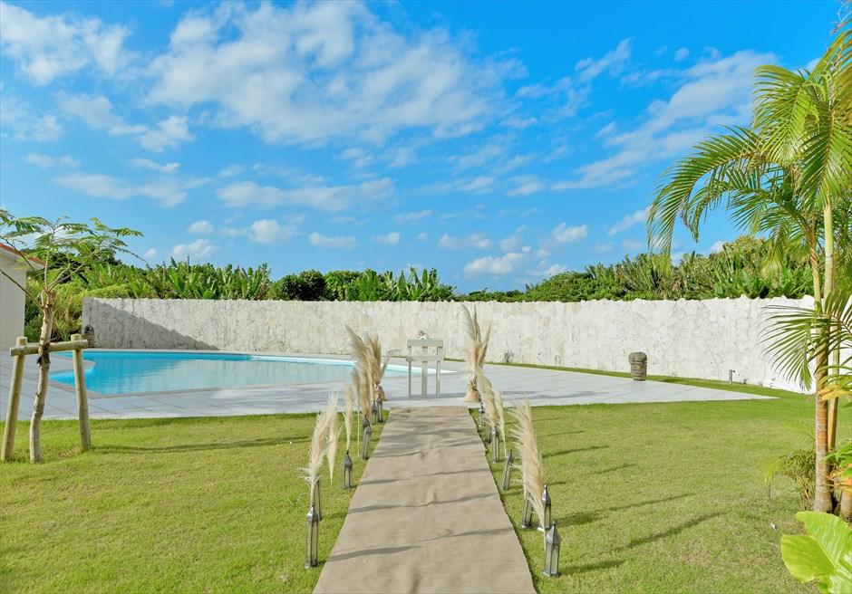 石垣島・沖縄プール・ヴィラ・プライベート挙式・結婚式・ウェディング