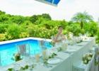 プールサイド・ウェディングパーティー&披露宴 パーティーシーン