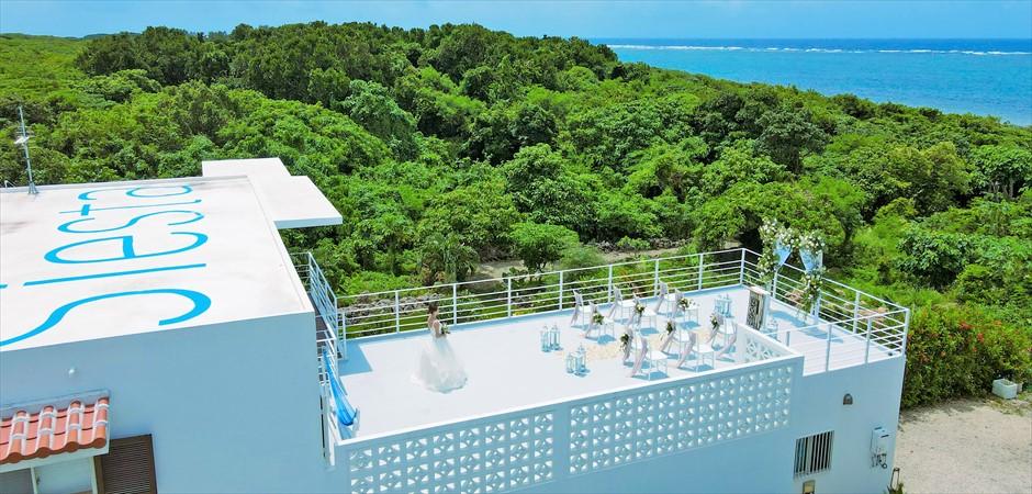 Oceanfront Villa Rooftop Wedding