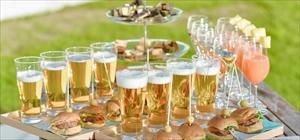 カクテル・パーティー<br><br>カクテル・ワイン赤白・ビール+カナッペ+ブース装飾<br>60分・90分・120分(10名様~)<br>