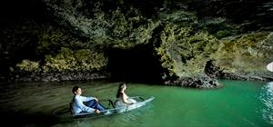 グラスボート(石垣島・青の洞窟)<br><br>120分・2人乗り2台<br>