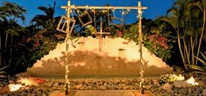フォトブース<br><br>木製(ホワイトウッド)&吊りフォトフレーム5つ<br>フェアリーライト&電源<br>