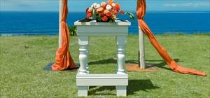ホワイト祭壇<br><br>木製<br>装飾別途<br>