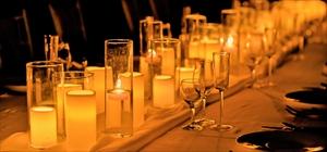 テーブル・キャンドル<br><br>フローティング・キャンドル30個&LEDキャンドル30個<br>筒ガラス大10個・中10個・小10個&テーブルランナー<br>