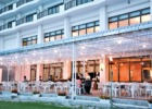 石垣シーサイドホテル テラス レストラン バーベキュー ディナー