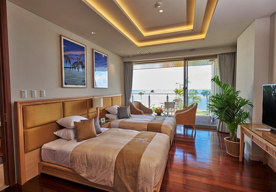 石垣リゾートホテル オーシャンビュールーム(一例)