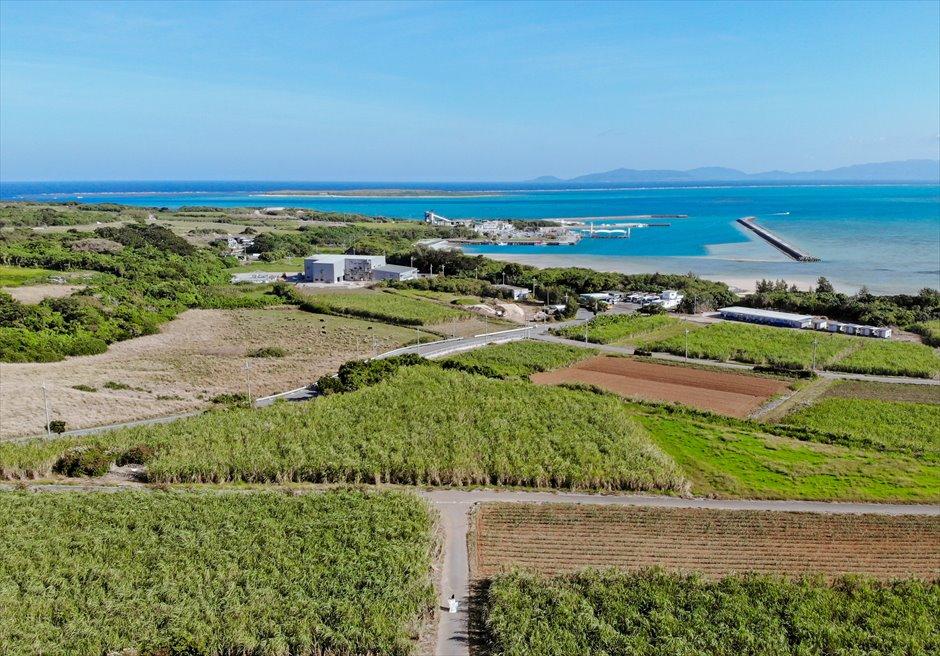 小浜島 全景