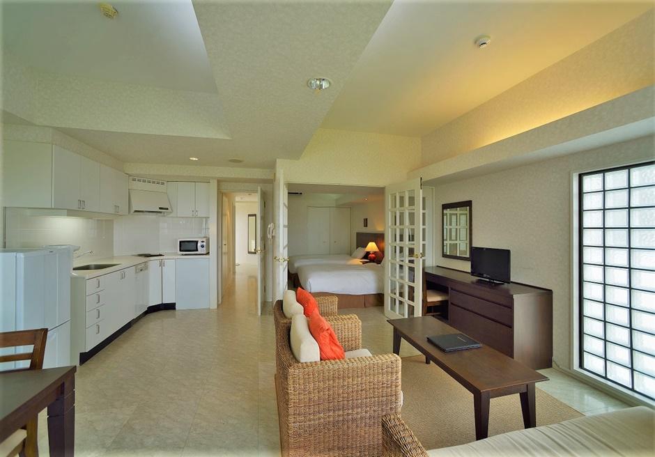 ホテルロイヤルマリンパレス石垣島/寝室が2つあるデラックスフォース(一例)