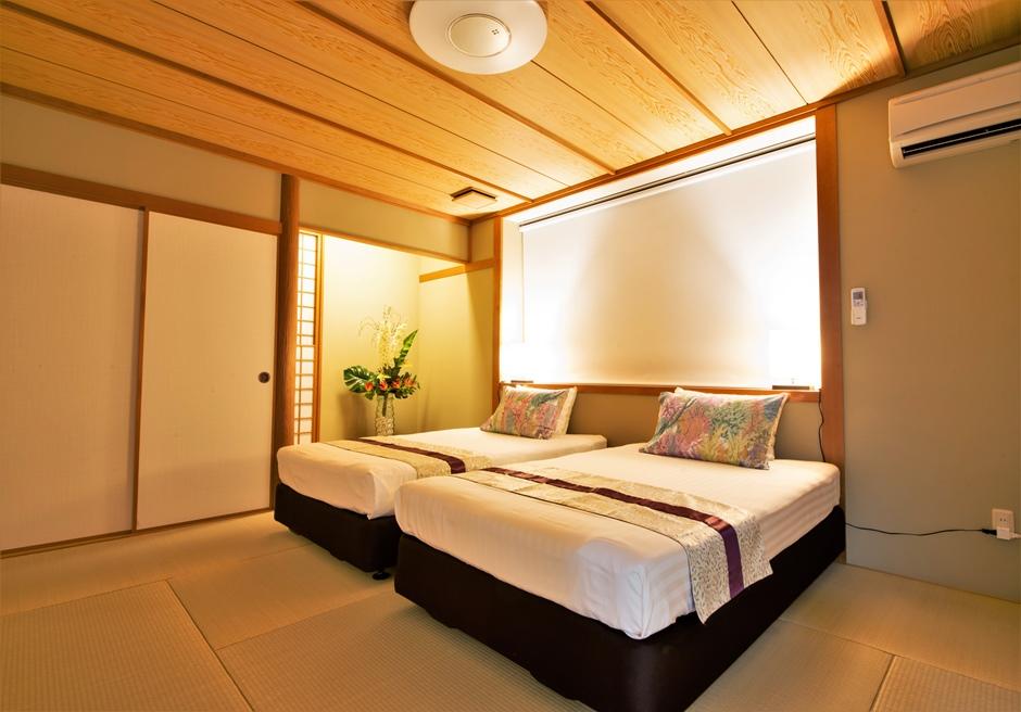 シーサイドテルミー石垣島/本邸 ベッドルーム(和室10畳)