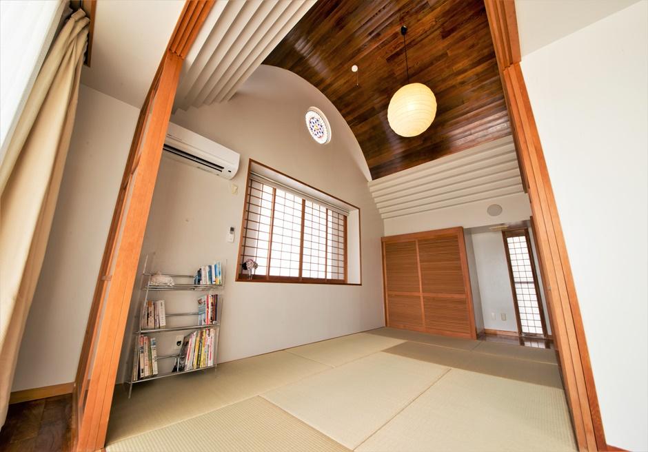 シーサイドテルミー石垣島/本邸和室 最大布団4枚を敷くことができます