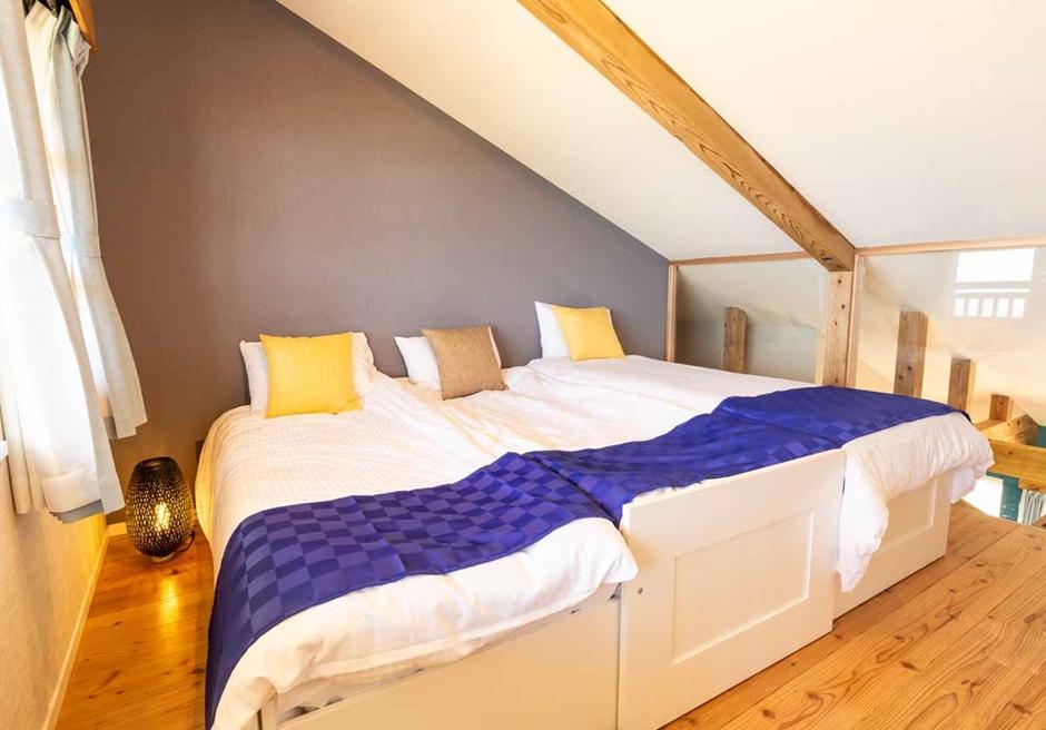 海と空 石垣島/ロフトルームは最大3台のベッドが設置可能です