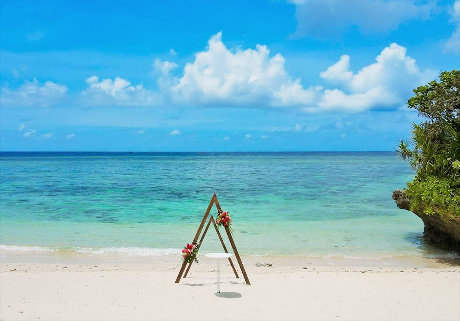コーラル・テラス石垣島ビーチ・ウェディング・セレモニー