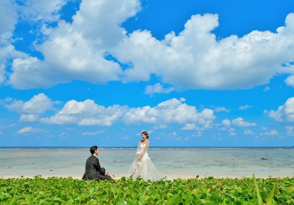 コーラル・テラス石垣島フォトウェディングシークレット・ビーチ挙式前撮影