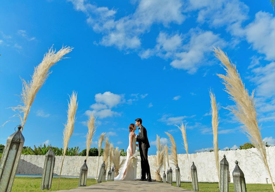 コーラル・テラス石垣島・沖縄結婚式│ラグジュアリー・プールヴィラ・ウェディング│美しいヴィラ&ガーデン挙式