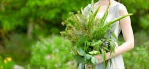 季節のハーブ・ブーケ&ブートニア<br><br>石垣島ハーブ・ガーデンの7種類のハーブを使用<br>サイズ:ラージ<br>¥34,000