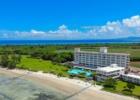 沖縄 石垣シーサイドホテル 上空からの全景