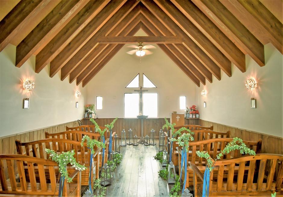 聖カビラ教会 セレモニー・フォトウェディング/ バージンロード+祭壇+ランタン+フラワー装飾 ¥198,000