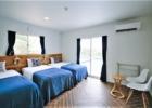 石垣島 貸切ヴィラ シエスタ 寝室 ベッドルーム