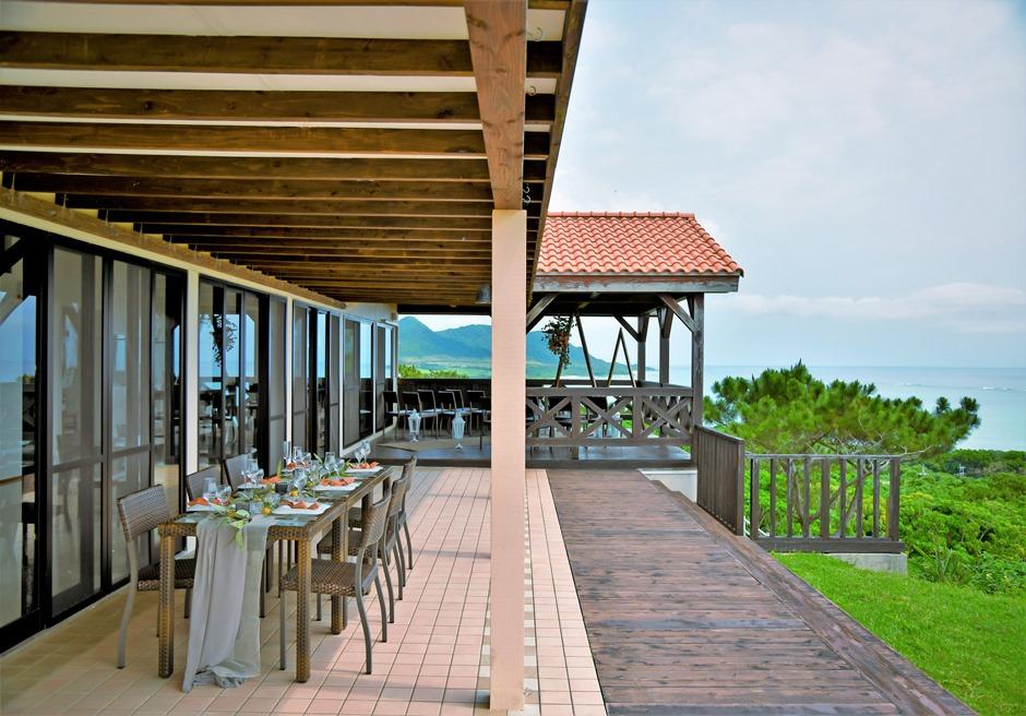 シーフォレスト石垣/レストラン屋外テラスからの眺め