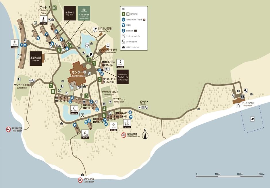 はいむるぶし 小浜島/リゾートマップ
