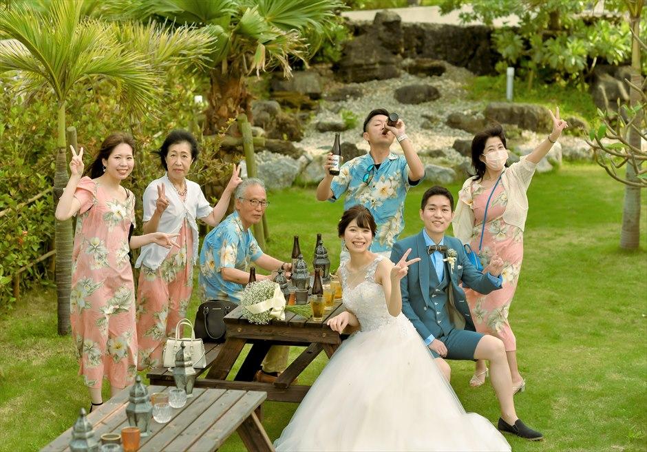 ホテル海邦川平・石垣島 披露宴前 ガーデン・パーティー
