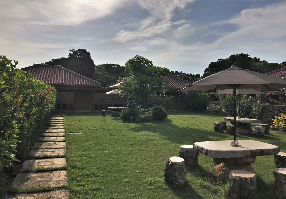 ホテルピースアイランド竹富島/ガーデン風景