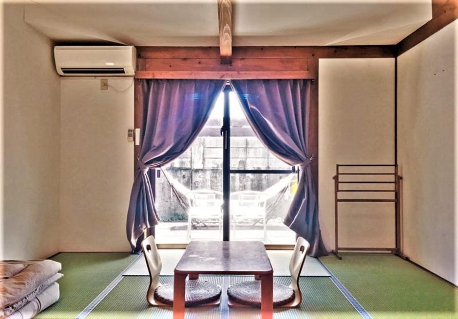 ペンション・ココ/和室は最大4名まで利用可能