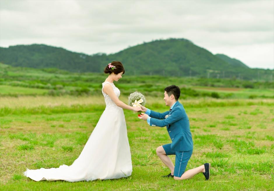 カーラ岳にてプロポーズ