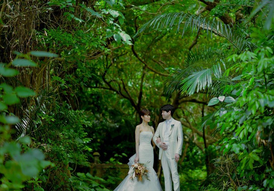 底地ジャングル 挙式前撮影 フォトウェディング