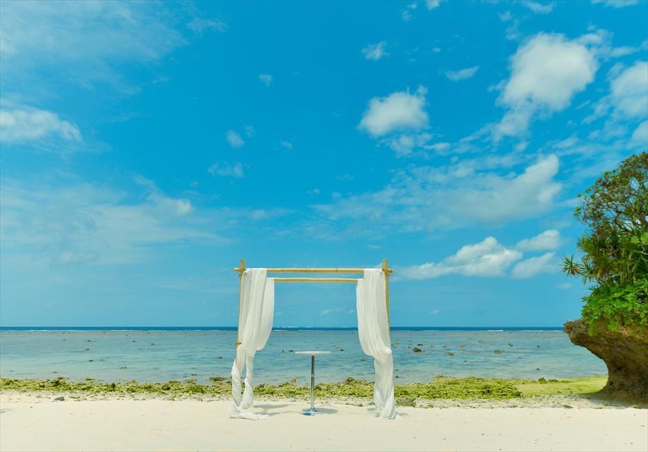 ガゼボ挙式 カノン石垣島ウェディング・結婚式 装飾・デコレーション