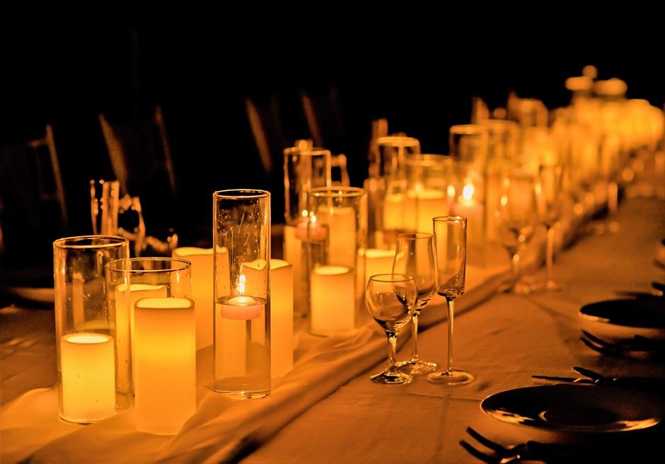 披露宴キャンドル カノン石垣島ウェディング・結婚式 装飾・デコレーション