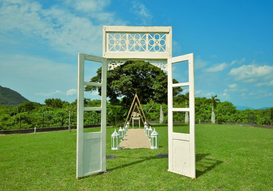 ヘブンズドア挙式 カノン石垣島ウェディング・結婚式 装飾・デコレーション