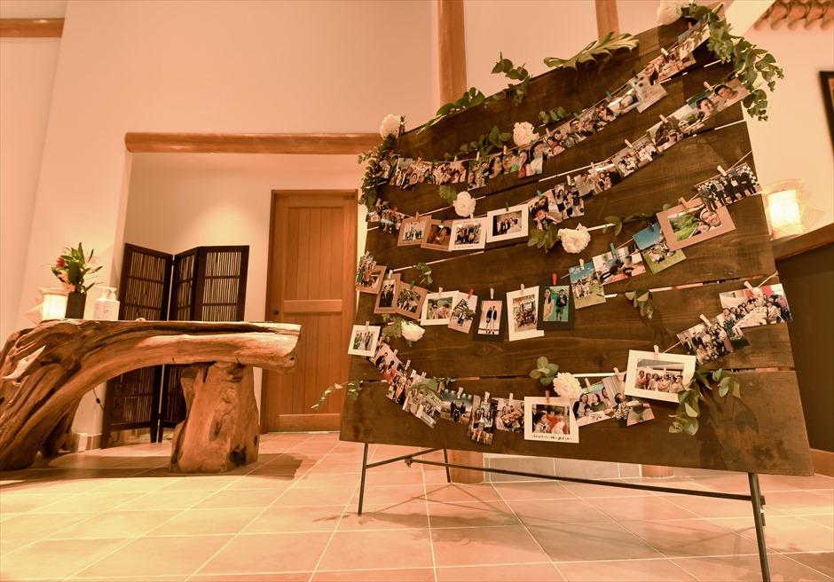披露宴フォトスペース カノン石垣島ウェディング・結婚式 装飾・デコレーション