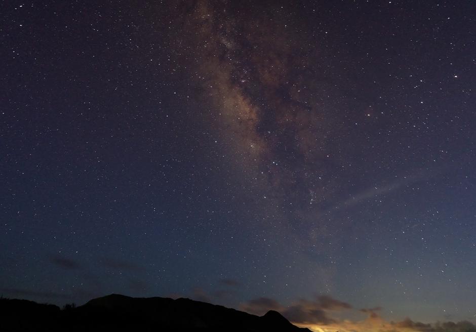 ナータ・ビーチ・ヴィラ/夜になると美しい星空が広がります