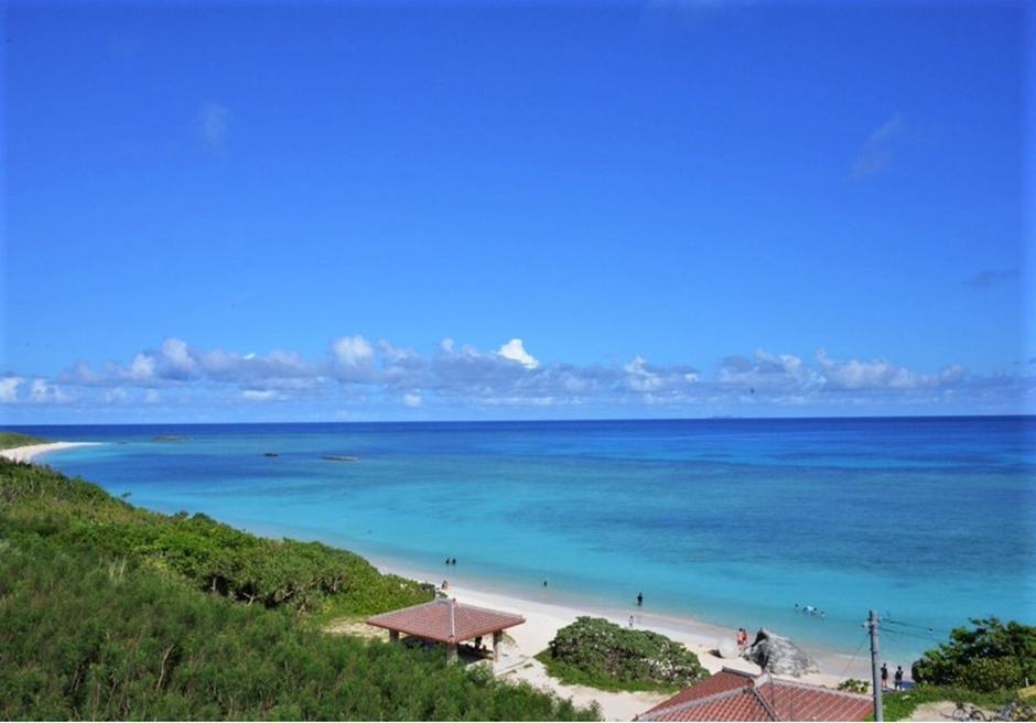 ペンション最南端/リゾート眼下にあるニシ浜