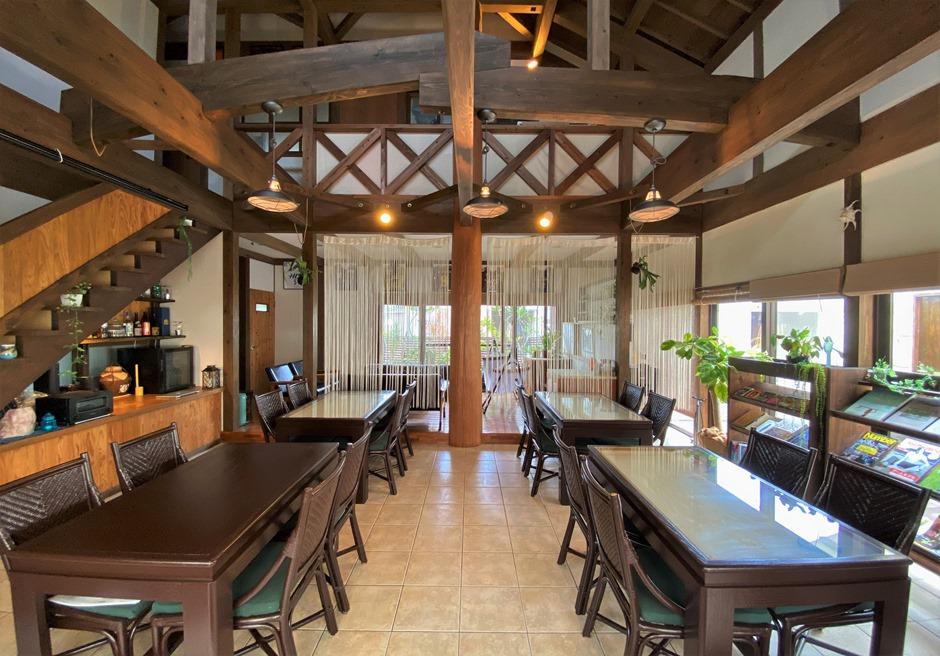 ペンション・ココ/朝食スペース(不定期でカフェを営業)